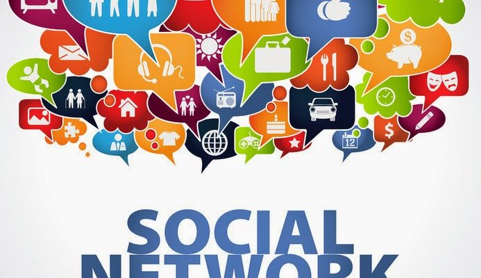 Social networking is the practice of expanding the number of one's business and/or social contacts .